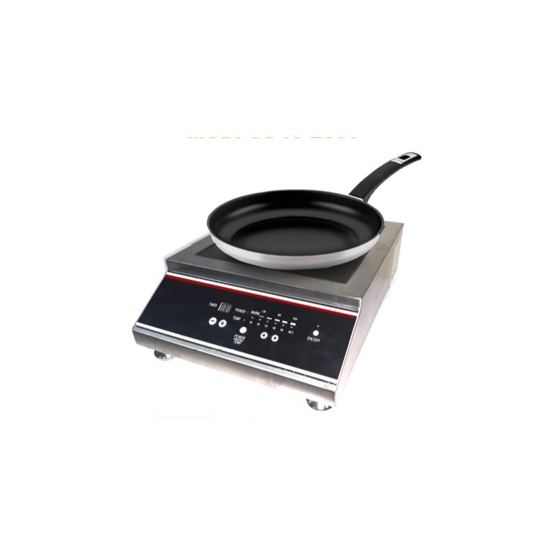 Migsa (GS-IC-2500) Parrilla eléctrica de inducción comercial