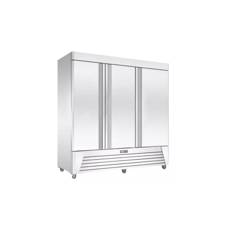 Migsa (BE-UR-78C-3) Refrigerador industrial vertical 3 puertas sólidas