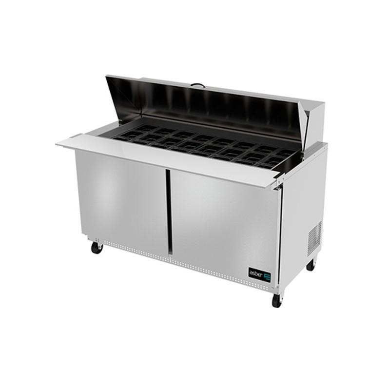 Mesa refrigerada preparación Mega-Top ASBER APTM-60-24)