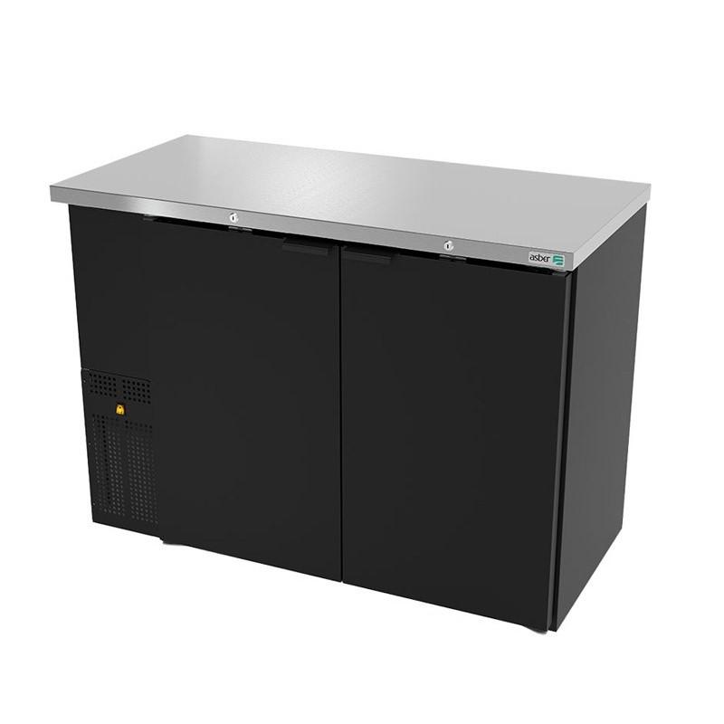 Refrigerador contrabarra 2 puertas sólidas Asber (ABBC-24-48-HC)