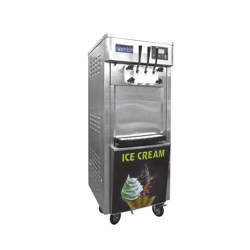 Migsa (BQL-825E-P/120) Máquina de helado suave de piso sistema nocturno 120V