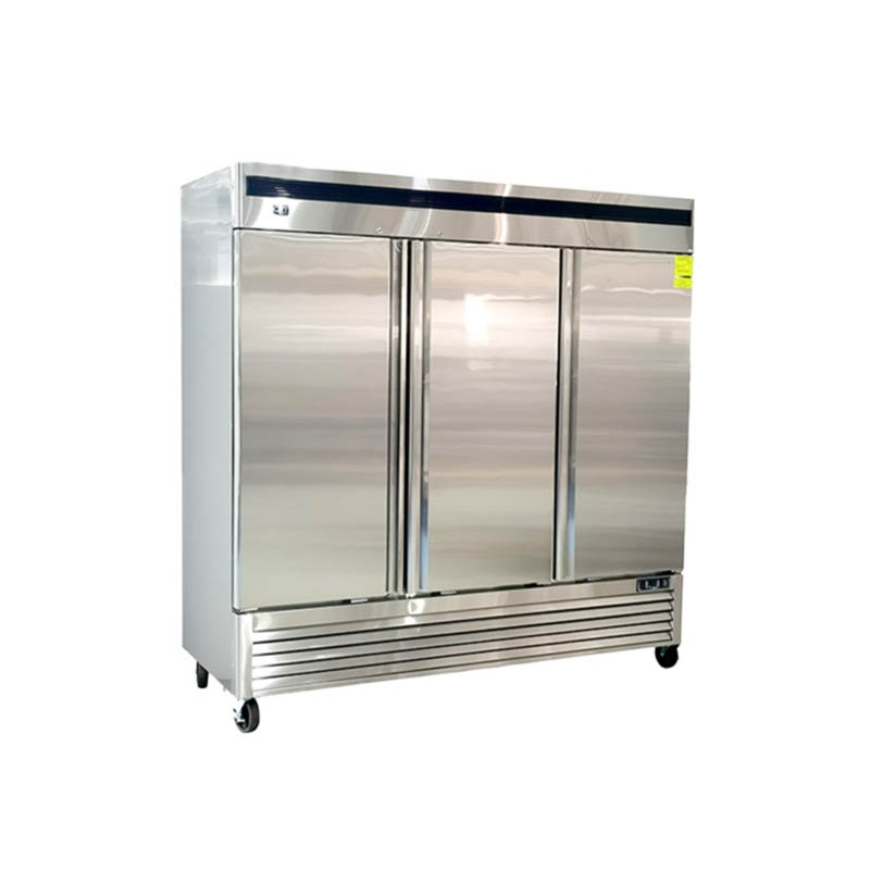 CRT (CVC713P) Congelador 71 pies 3 puertas sólidas