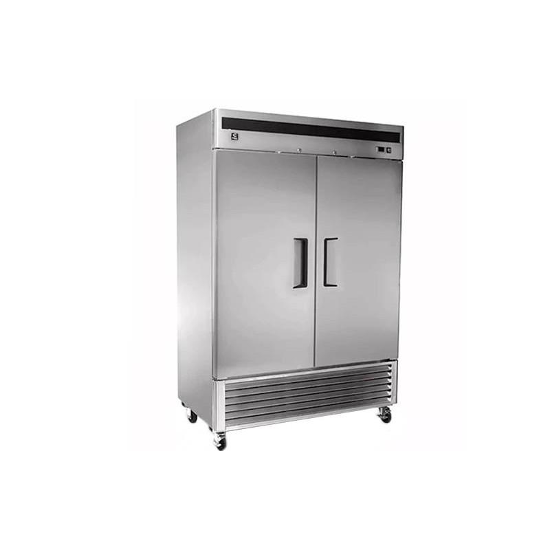 CRT (CVC462P) Congelador vertical 46 pies 2 puertas sólidas